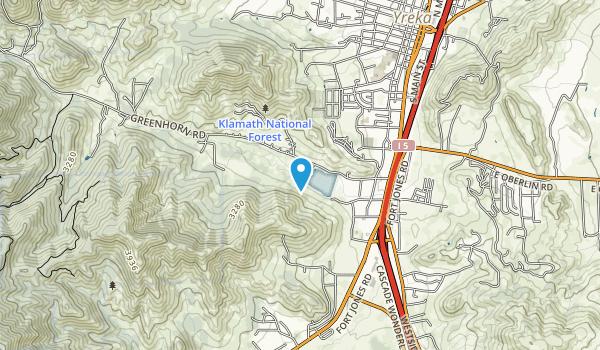 Greenhorn Park Map