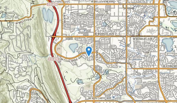 Ruben A Easton Regional Park Map