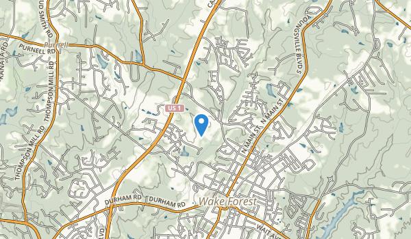 E. Carroll Joyner Park Map