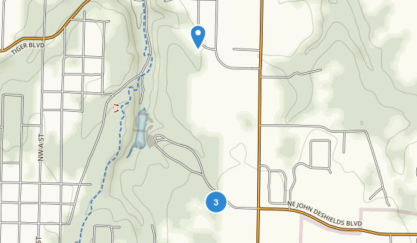 Enfield Park Map