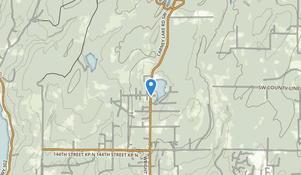 Lake Koeneman Wildlife Area Map
