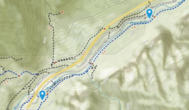 Upper Falls Park Map