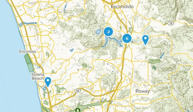 San Dieguito River Park Map
