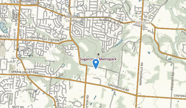 Sugarcreek Metropark Map