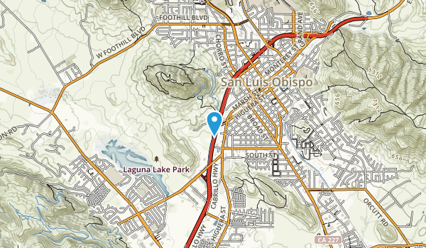 Cero San Luis Obispo Map