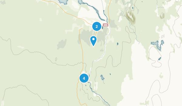 Jökulsárgljúfur Map
