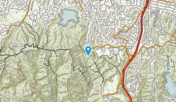 San Vicente Mountain Park Map
