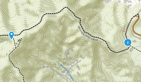 San Vicente Mountain Park Map