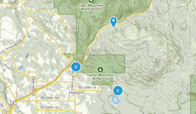 Taylor Mountain Forest Map