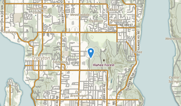 Illahee Preserve Heritage Park Map