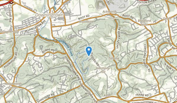 Harmony Hill Nature Area Map