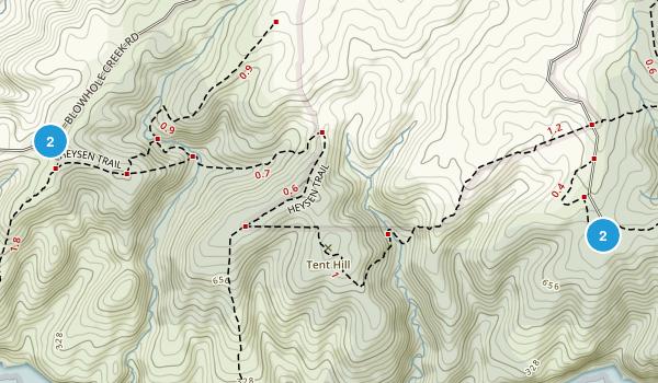 Deep Creek Conservation Park Map