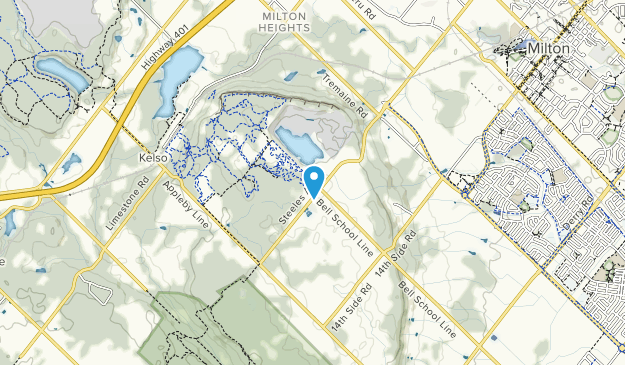 Kelso Conservation Area Map