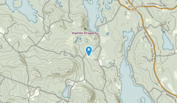 Hamlin Conservation Area Map