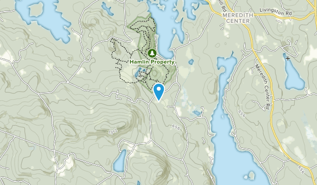 Hamlin Conservation Area Map