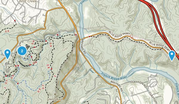 North Carolina Arboretum Map