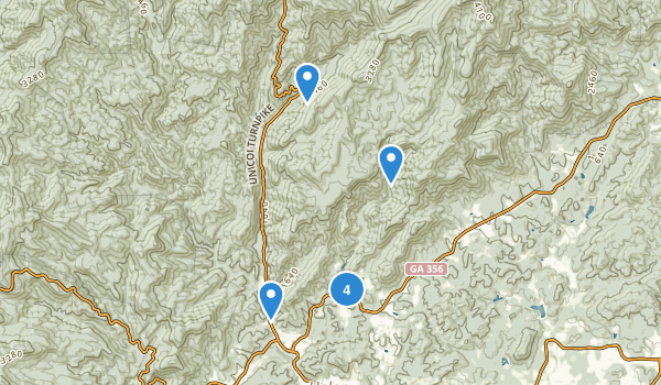 Unicoi State Park Map