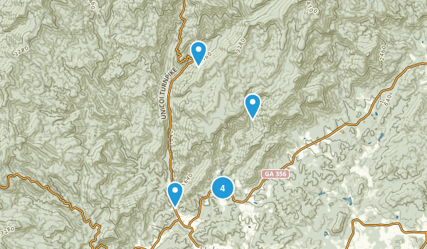 Unicoi State Park Map