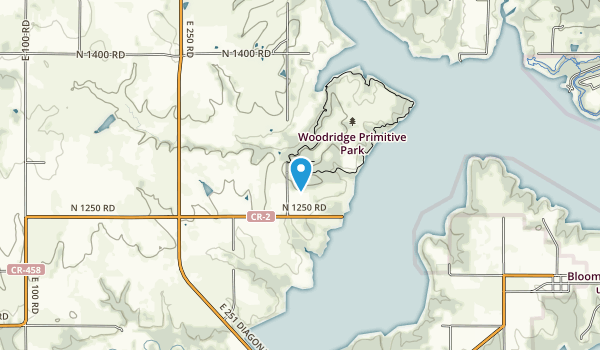 Woodridge Primitive Park Map