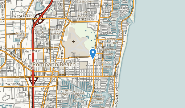 Pompano Beach Airpark Map