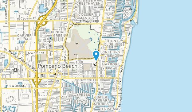 Pompano Beach Airpark Map