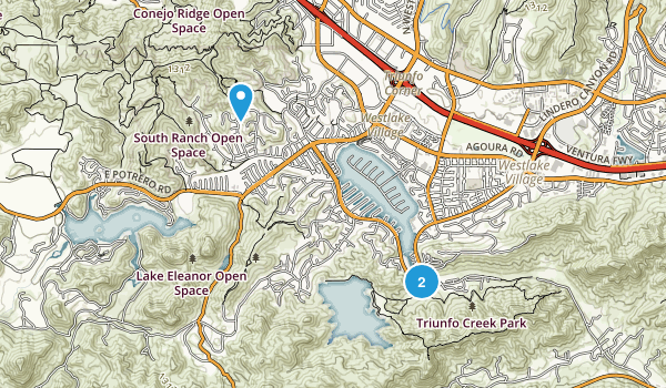 Triunfo Creek Park Map