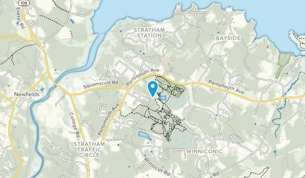 Stratham Hill Park Map
