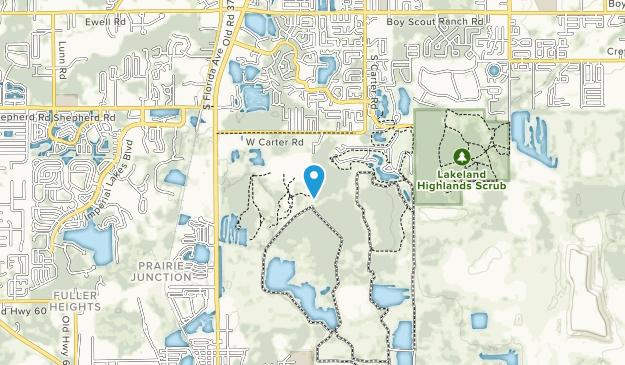 Loyce Harp Park Map