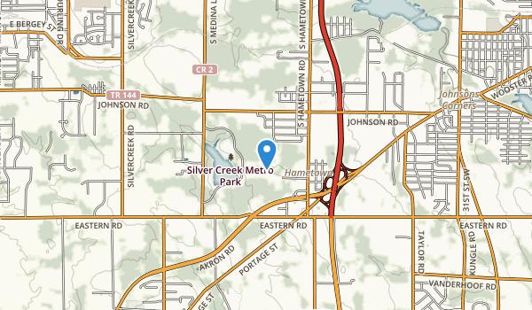 Silver Creek Metro Park Map