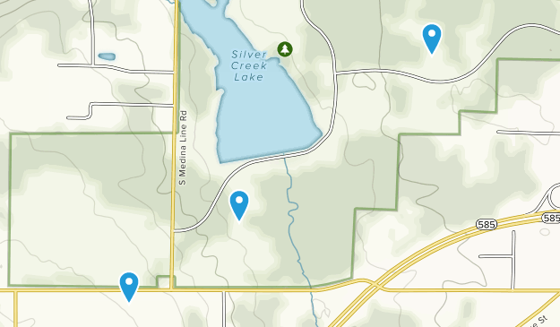 Silver Creek Metro Park Map