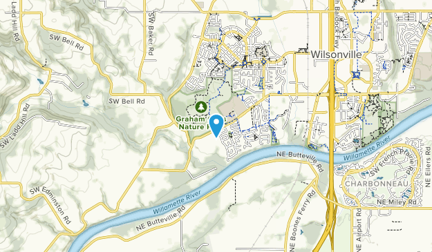 Graham Oaks Nature Park Map