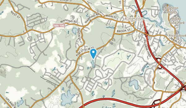 O.W. Stewart Preserve Map