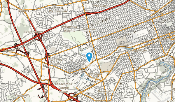 Trexler Park Map