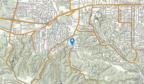 Rock Hollow Park Map