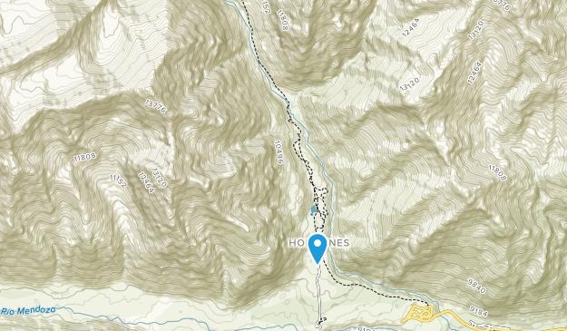 Aconcagua Provincial Park Map