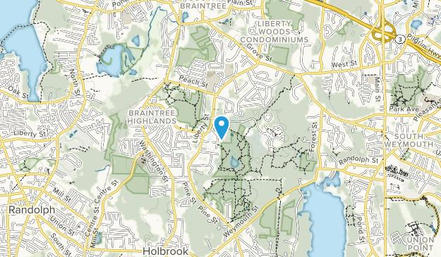 Cranberry Pond Conservation Area Map