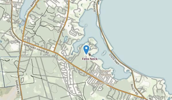 Felix Neck Wildlife Sanctuary Map