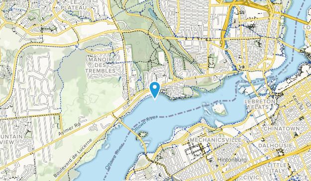 Parc Moussette Map