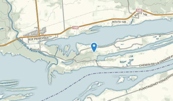 Parc national de Plaisance Map