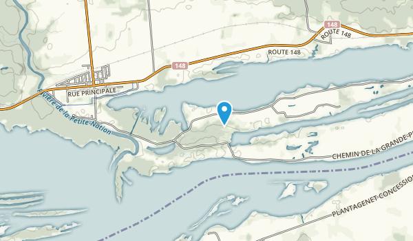 Parc national de Plaisance Map
