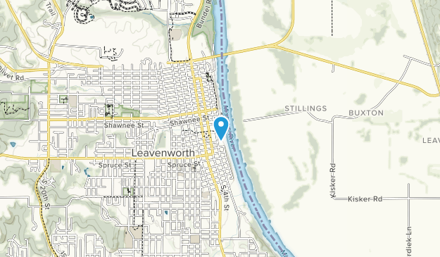 Leavenworth Landing Park Map