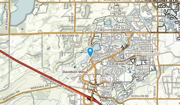 Davidson Mesa Map