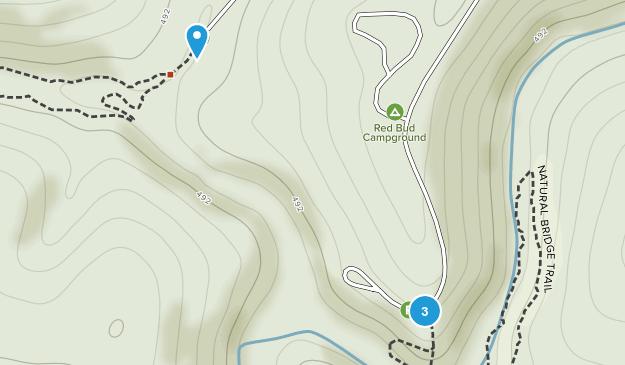 Bell Smith Springs Natural Landmark Map
