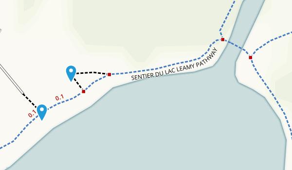 Parc du Lac-Leamy Map