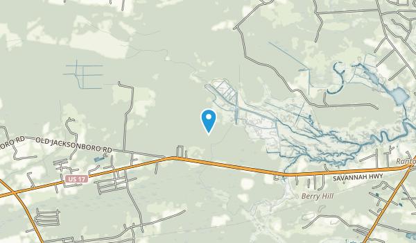 Charleston County Park Map