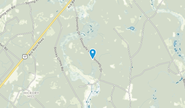 Donnelley Wildlife Management Area Map