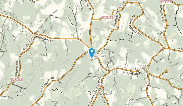 Montpelier Park Map