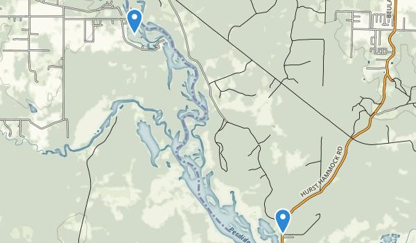 Perdido River Nature Preserve Map