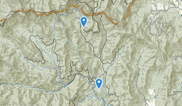 Mills River Recreation Area Map