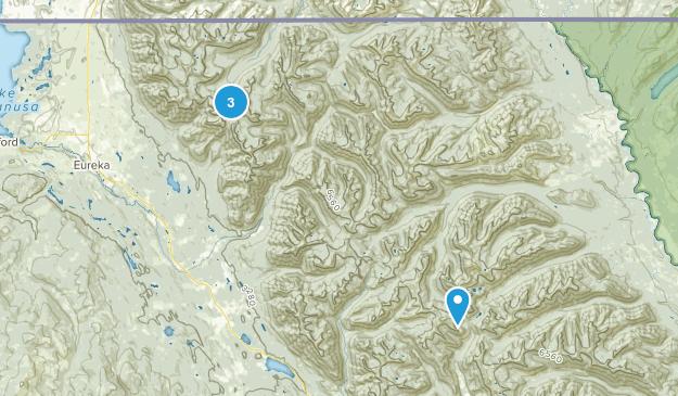 Ten Lakes Wilderness Study Area Map